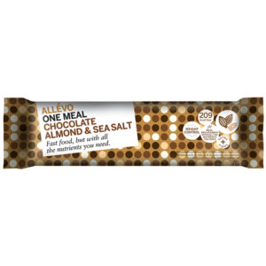 Allevo Chocolate Almond Sea Salt Bar