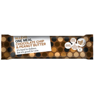 Allevo Chocolate Chip Peanut Butter Bar
